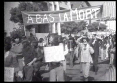 La marche des femmes à Hendaye