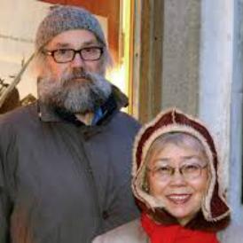 Anastasia Lapsui i Markku Lehmuskallio