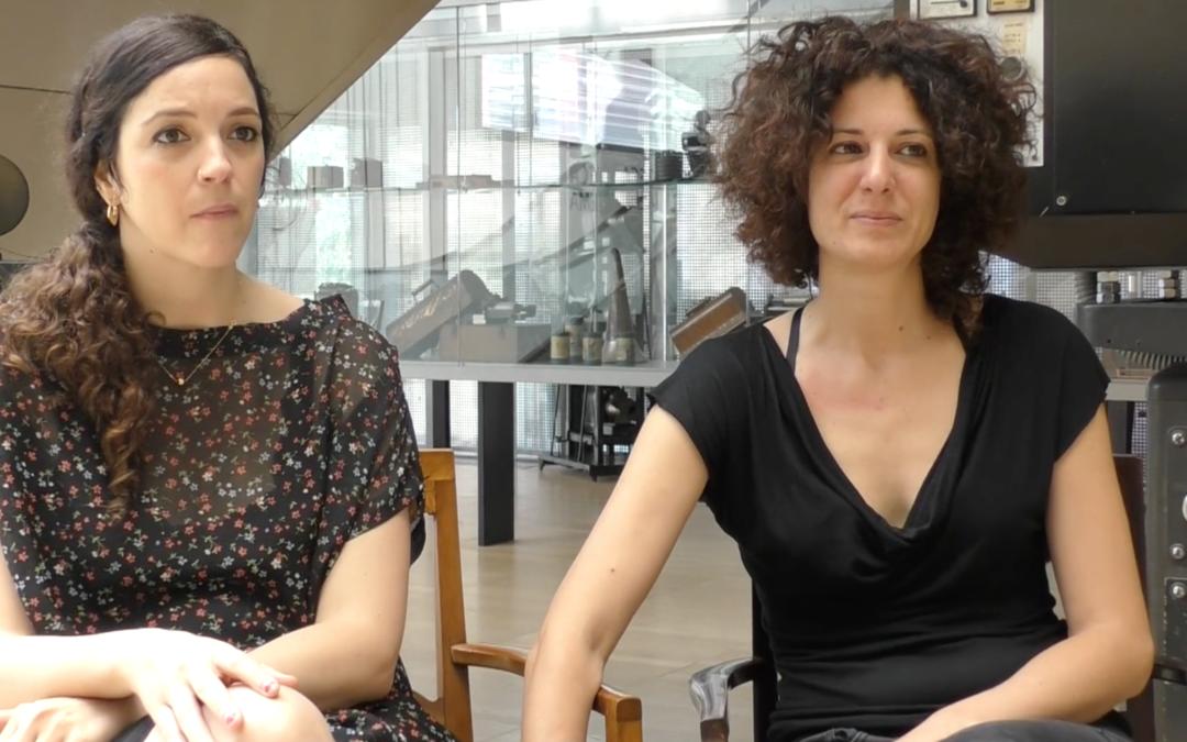 Entrevista a Patricia Sánchez i Séverine Sajous