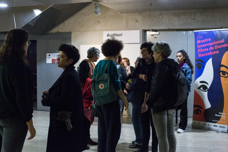 Manifestos Fílmics Feministes IV de la Mostra Internacional Films de Dones Barcelona al CCCB.